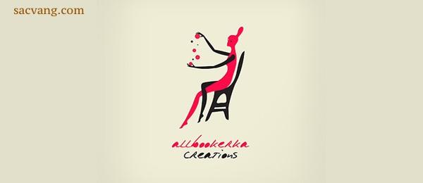 logo cô gái
