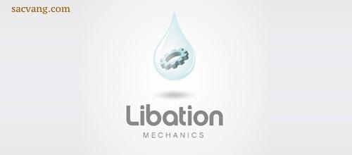 logo giọt nước