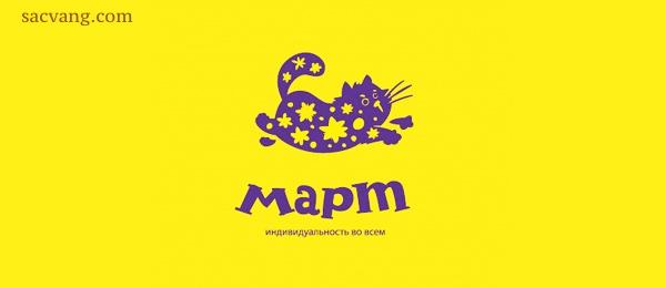 logo màu vàng