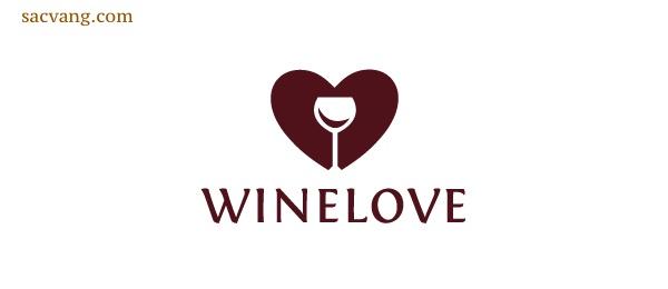 logo rượu vang