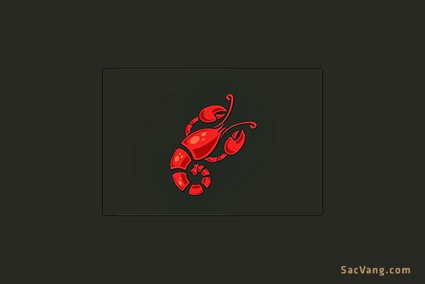 mẫu logo tôm hùm