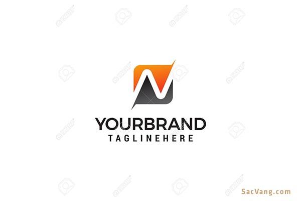 mẫu thiết kế logo chữ n đẹp