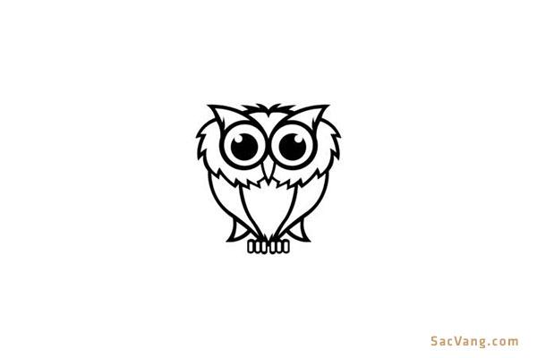 Mẫu Logo Con Cú Đẹp