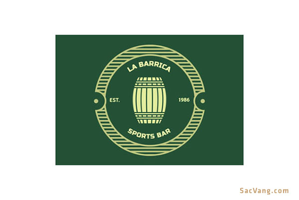 Mẫu Logo Quán Bar Đẹp