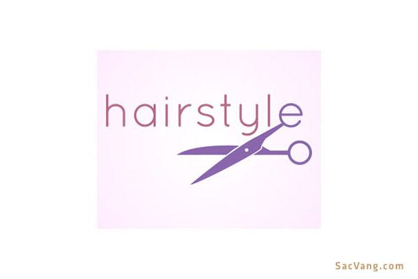 Mẫu Logo Tiệm Tóc Đẹp